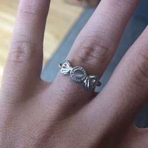 Silver Marc Jacobs candy ring size 6